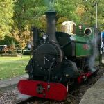 Mad Bess at Woody Bay on the Ruislip Lido Railway