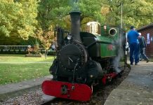 Mad Bess at Woody Bay on the Ruislip Lido Railway