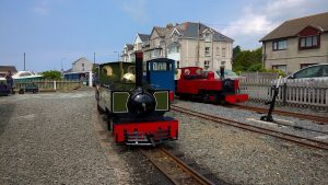 Yeo & Russell on the Fairbourne Railway Centenary of Steam Gala