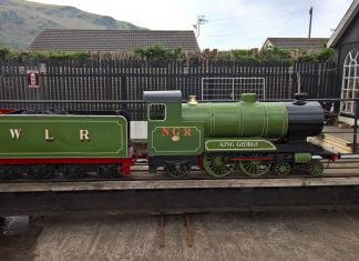 King Edward of Wales at Fairbourne