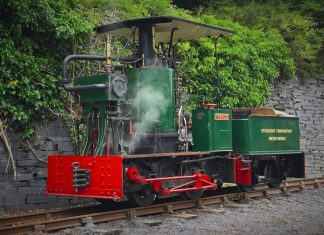 Fernilee at the Penrhyn Quarry Railway