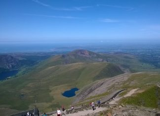 View From Snowdon Summit