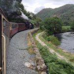 Aberglaslyn Pass on the Welsh Highland Railway