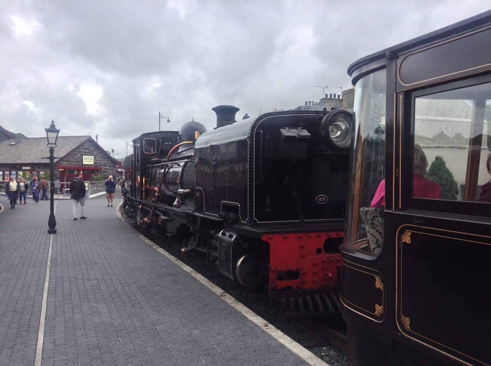 Garratt 87 at Porthmadog