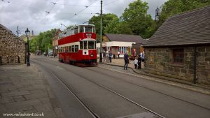 London Metropolitan 331 at Town End at Crich Tramway Village and Museum