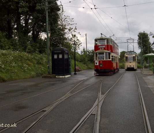 Town End Terminus at the Crich Tramway Village