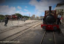 All 5 Fletcher Jennings at Tywyn during Talyllyn 150 celebrations
