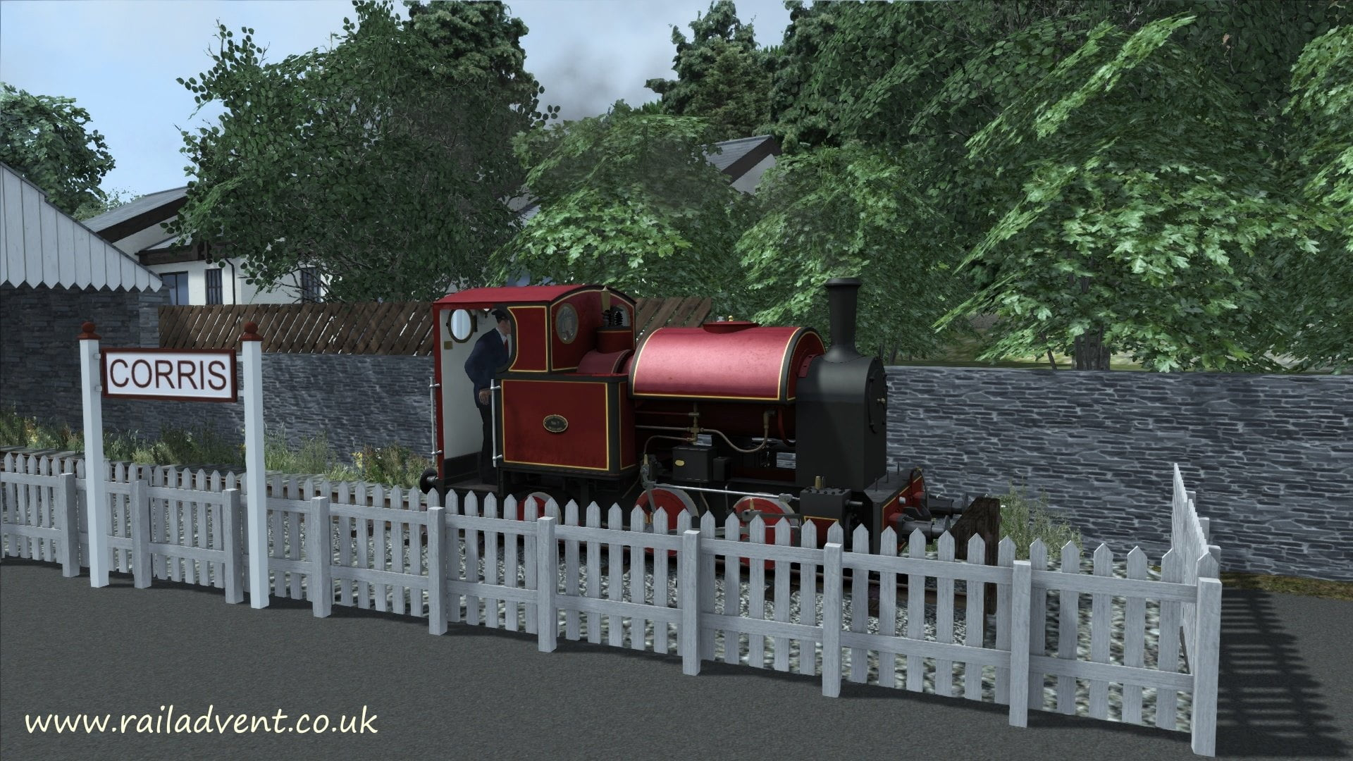 Corris Railway Station - Train Simulator 2016