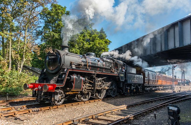 76084 on the North Norfolk Railway