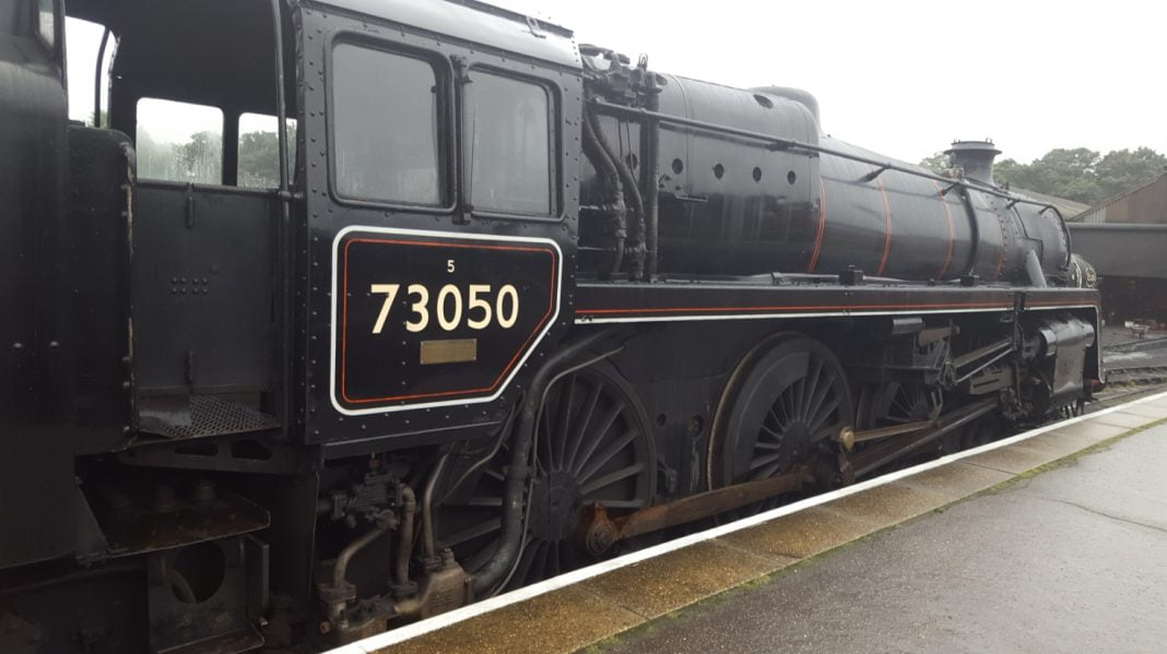 73050 at Wansford on the Nene Valley Railway