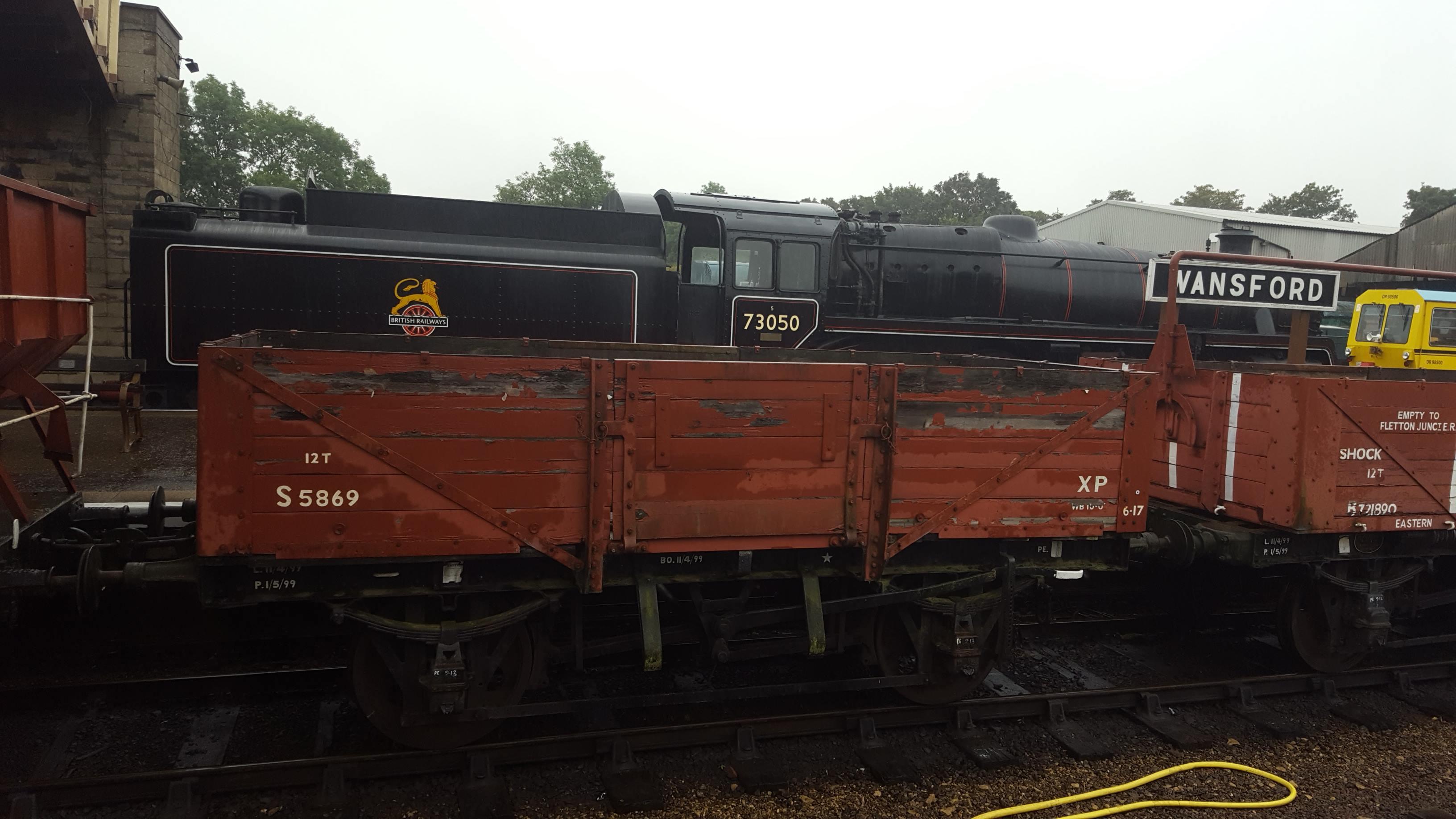 No. 73050 at Wansford