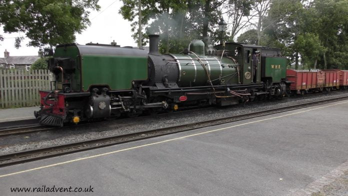 Garratt 143 at Dinas during Great & Small III