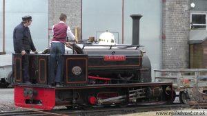 Hugh Napier at Dinas on Slate Shunt Experiences