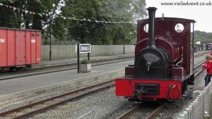 Lautoka No. 19 at Dinas (On loan from the Statfold Barn Railway)