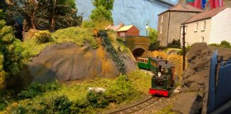 Model layout at Dinas