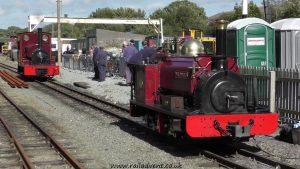 Velinheli on Footplate Rides at Dinas