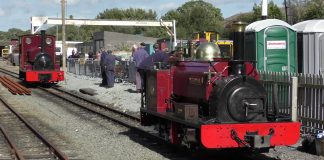 Velinheli on Footplate Rides at Dinas