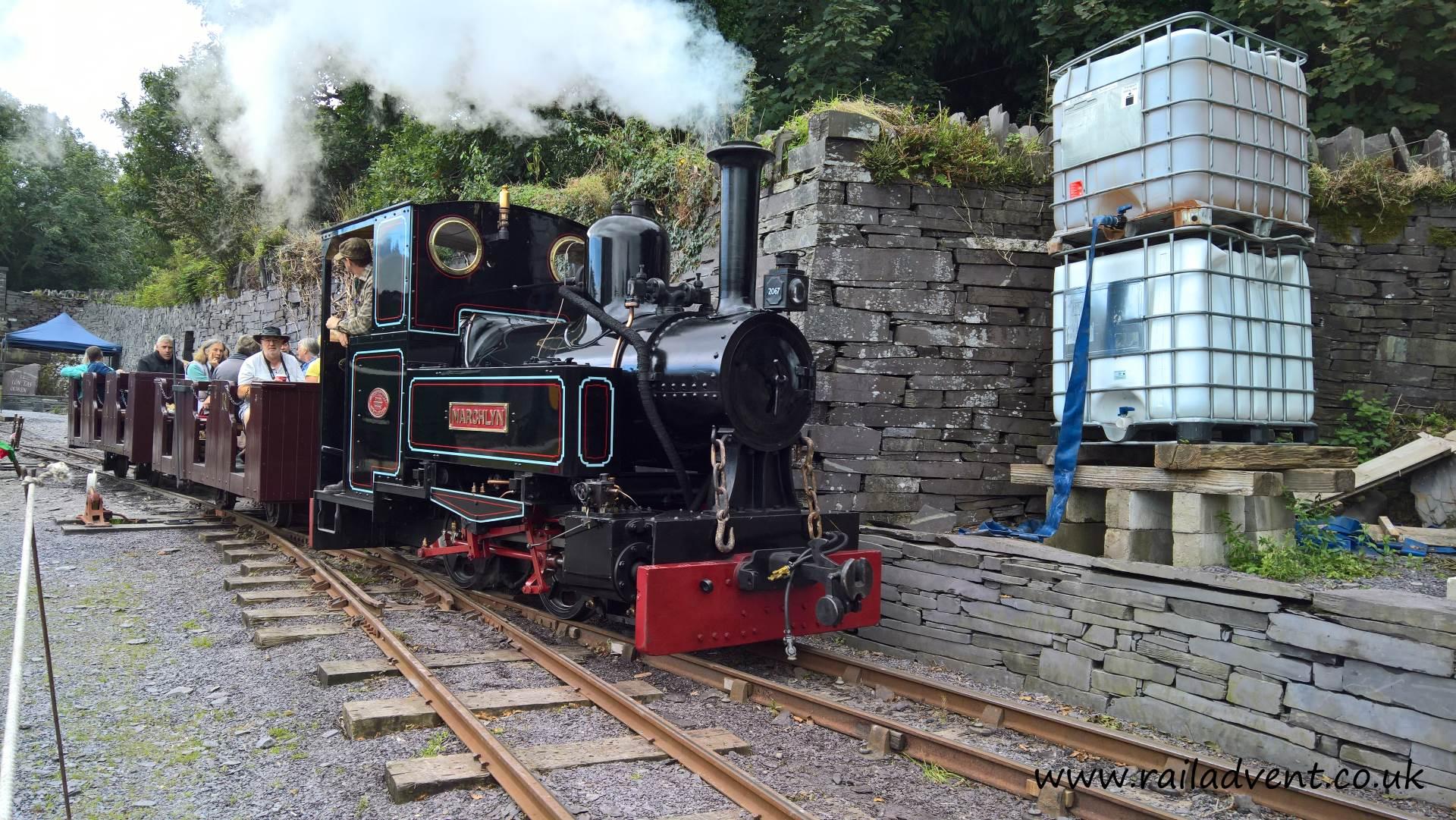 Marchlyn on the Penrhyn Quarry Railway during Penrhyn Redirected