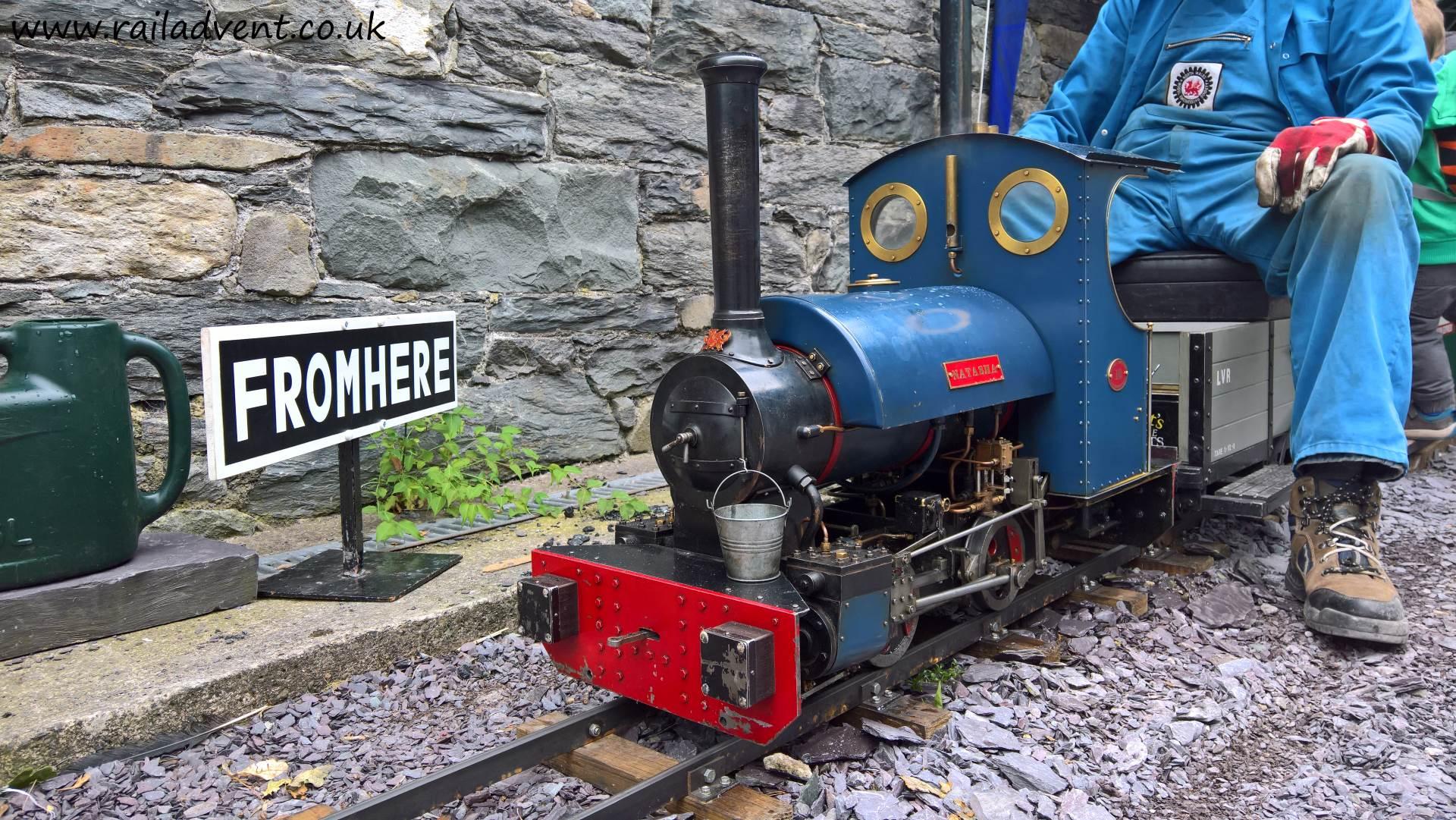 Miniature Railway at Penrhyn Redirected
