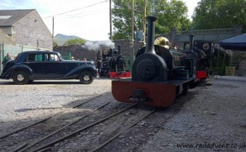 Winifred and Stanhope on the Penrhyn Quarry Railway during Penrhyn Redirected