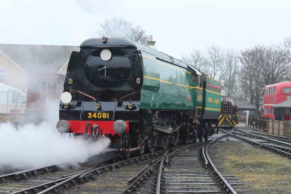 92 Squadron at Wansford on the Nene Valley Railway