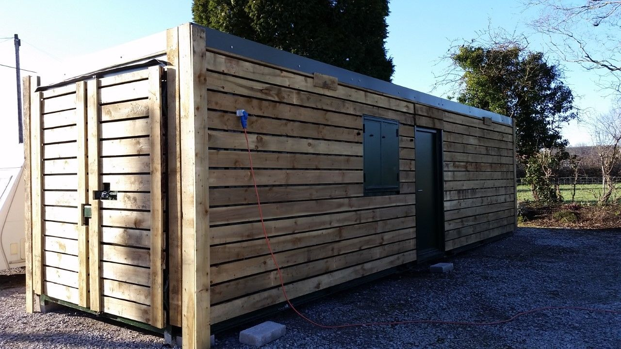 The planned new ticket office for the Penrhyn Quarry Railway