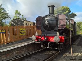 [CPR] Steam Locomotive L. 92 at Chinnor