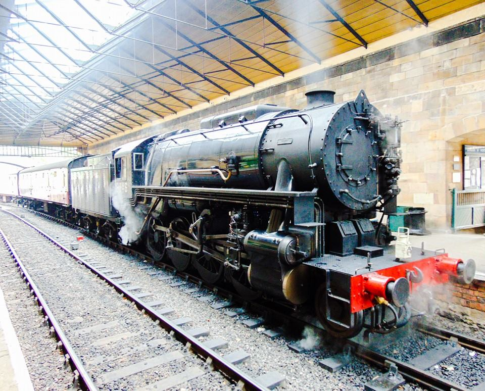 No. 6046 (resident at the Churnet Valley Railway) at Pickering on the North Yorkshire Moors Railway
