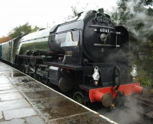 Tornado on the East Lancs Railway