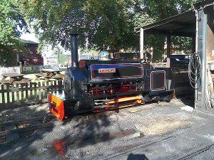 Gwynedd at the Bressingham Steam Railway