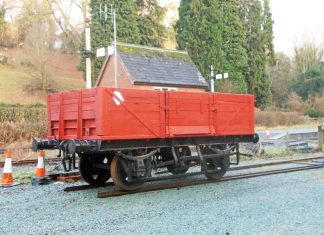 The Standard Gauge Goods Wagon that the Welshpool and Llanfair Railway has obtained