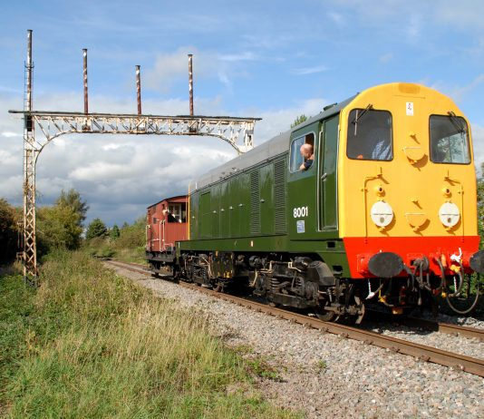 Class 20 'D8001' is set to visit the Epping Ongar Railway in 2017