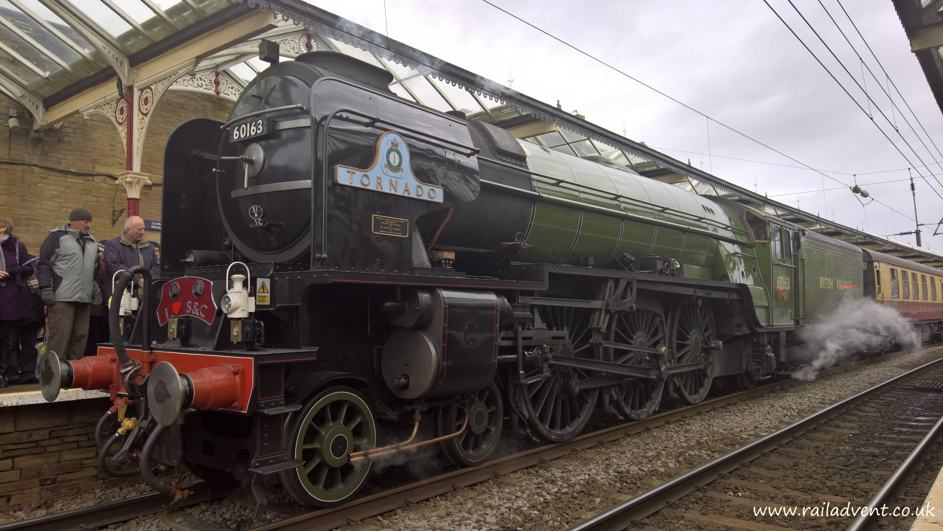 UK Mainline steam locomotive movements, tours and test run