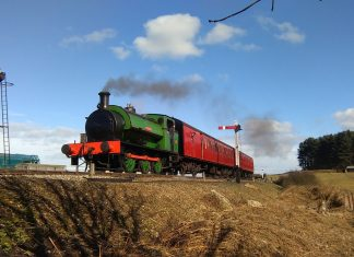 Ring Haw on the North Norfolk Railway