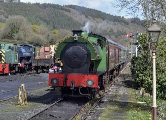 Haulwen at Bronwydd Arms on the Gwili Railway