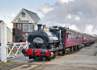 Fulstow at Ludborough on the Lincolnshire Wolds Railway