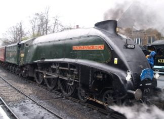 60009 Union of South Africa at Grosmont on the North Yorkshire Moors Railway