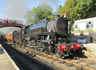 6046 at Goathland on the North Yorkshire Moors Railway