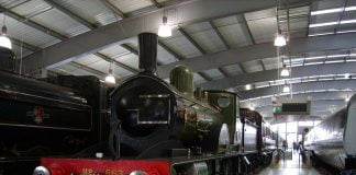 T3 at Shildon Railway Museum // Credit: Wikipedia