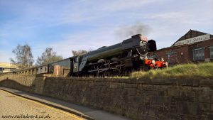 Flying Scotsman on show - East Lancashire Railway