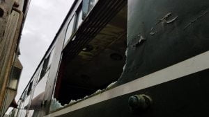 Damage Caused To DMU at the Telford Steam Railway