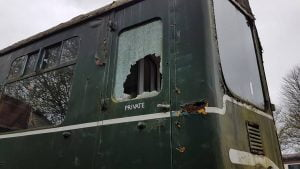 Damage Caused To Diesel Loco at the Telford Steam Railway