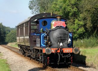 No. 323 Bluebell // Credit: Bluebell Railway