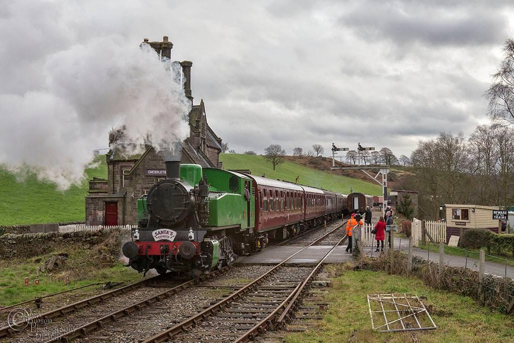 Cheddleton Station on the Churnet Valley Railway
