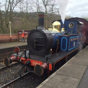 No. 323 Bluebell on the Churnet Valley Railway