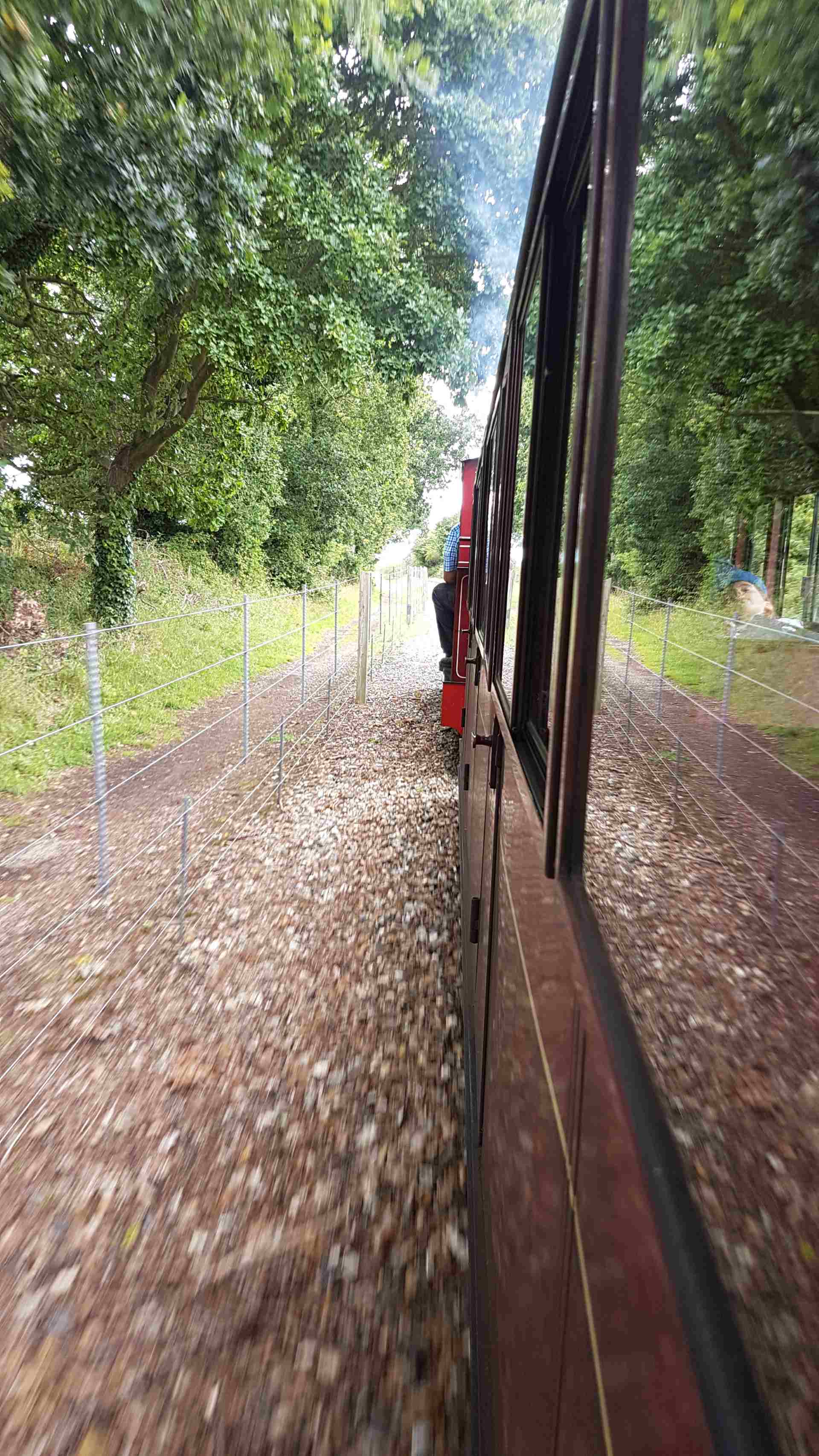 Steaming along at the Bure Valley Railway