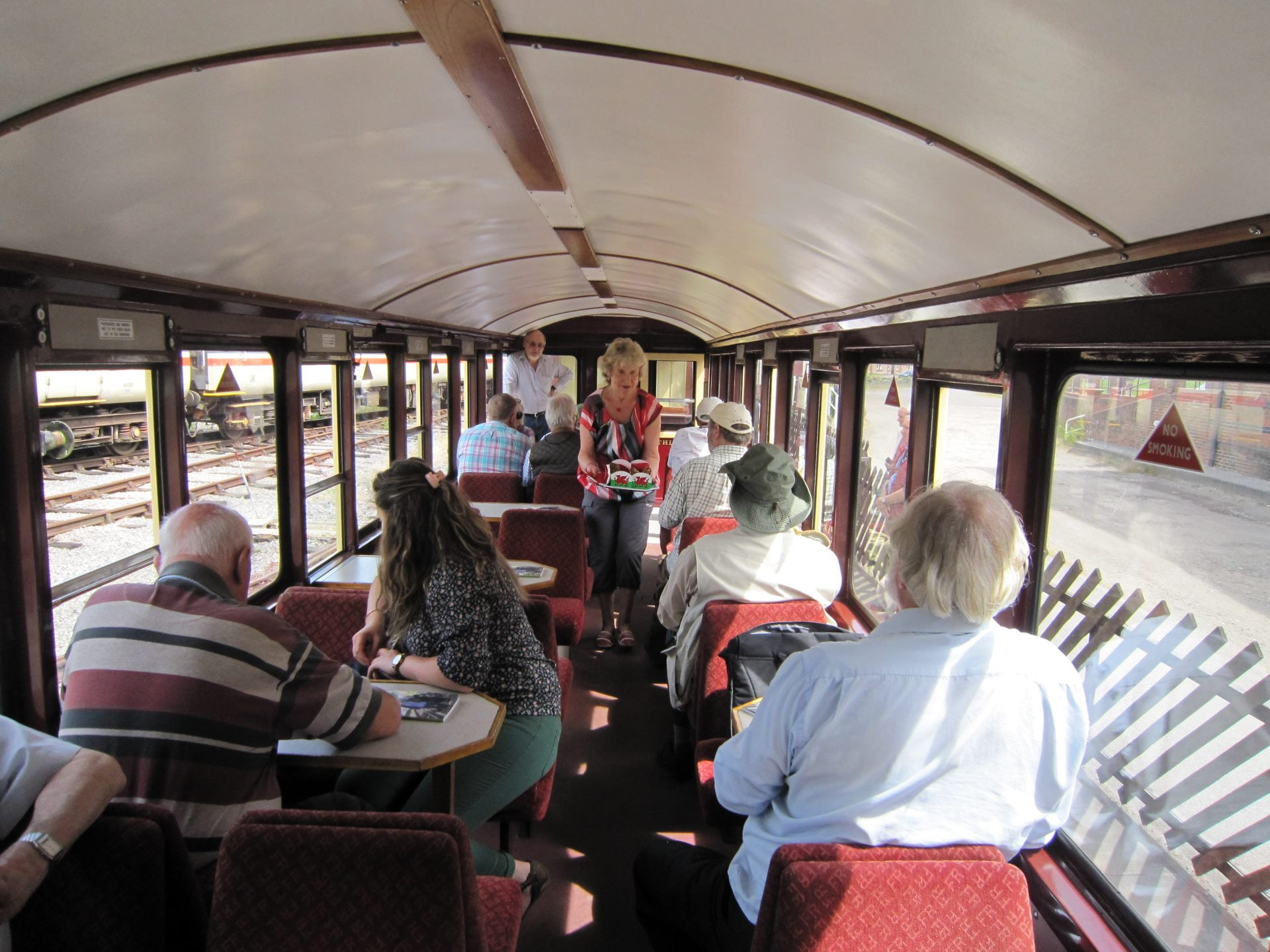 Inside the launch of the new carriage