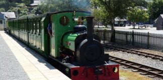 Dolbadarn on the Llanberis Lake Railway