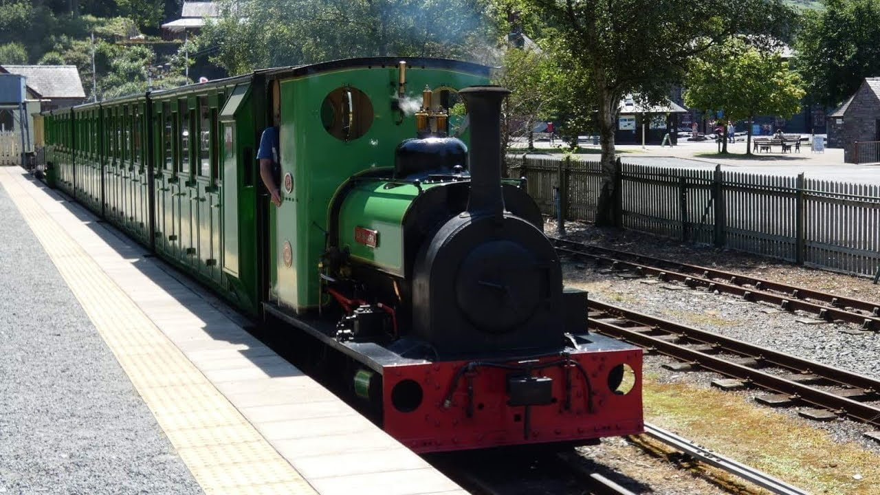 Dolbadarn on the Llanberis Lake Railway