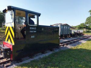 Baguley A10 // Credit: Amerton Railway